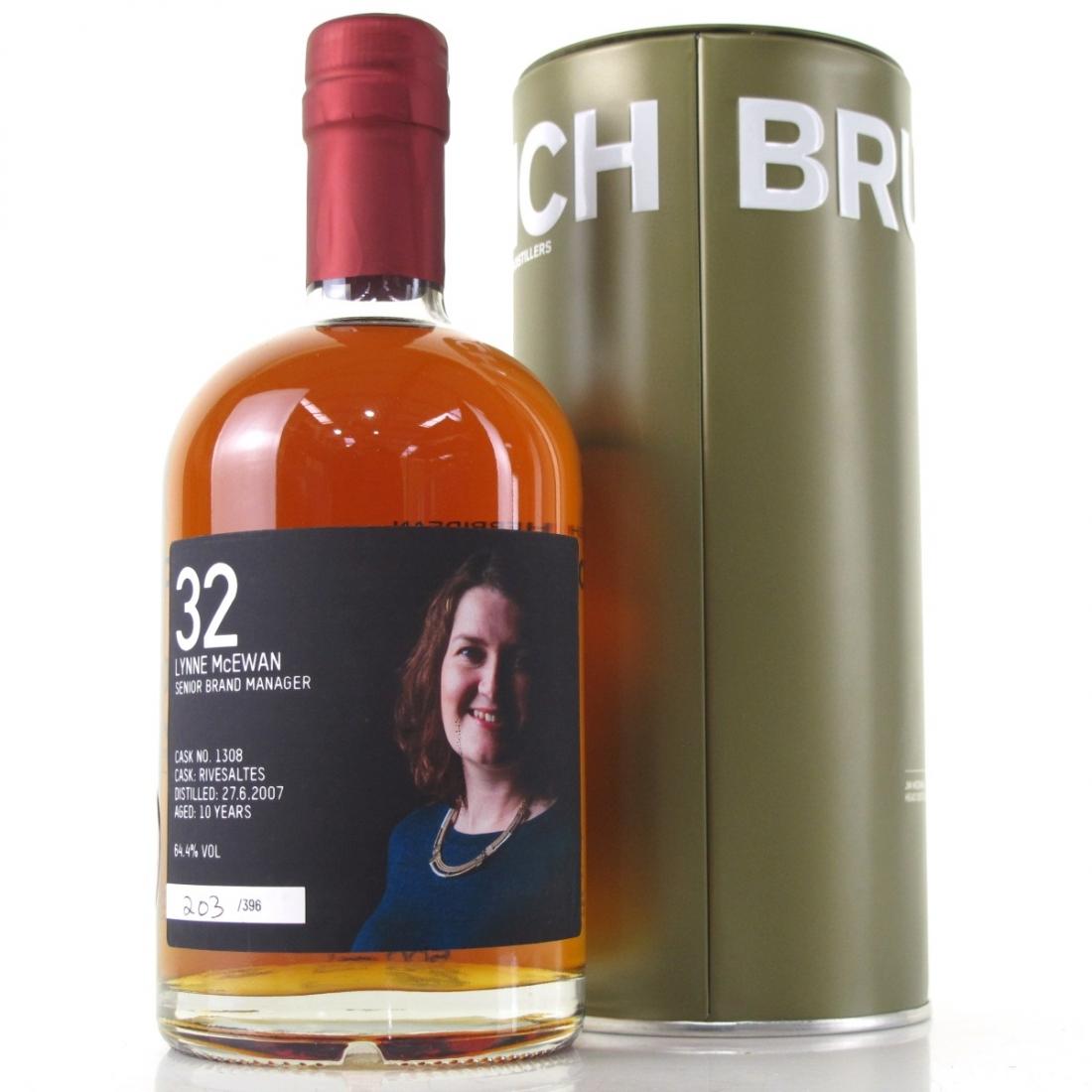 Bruichladdich 2007 Valinch Single Cask #1308 / Lynne McEwan