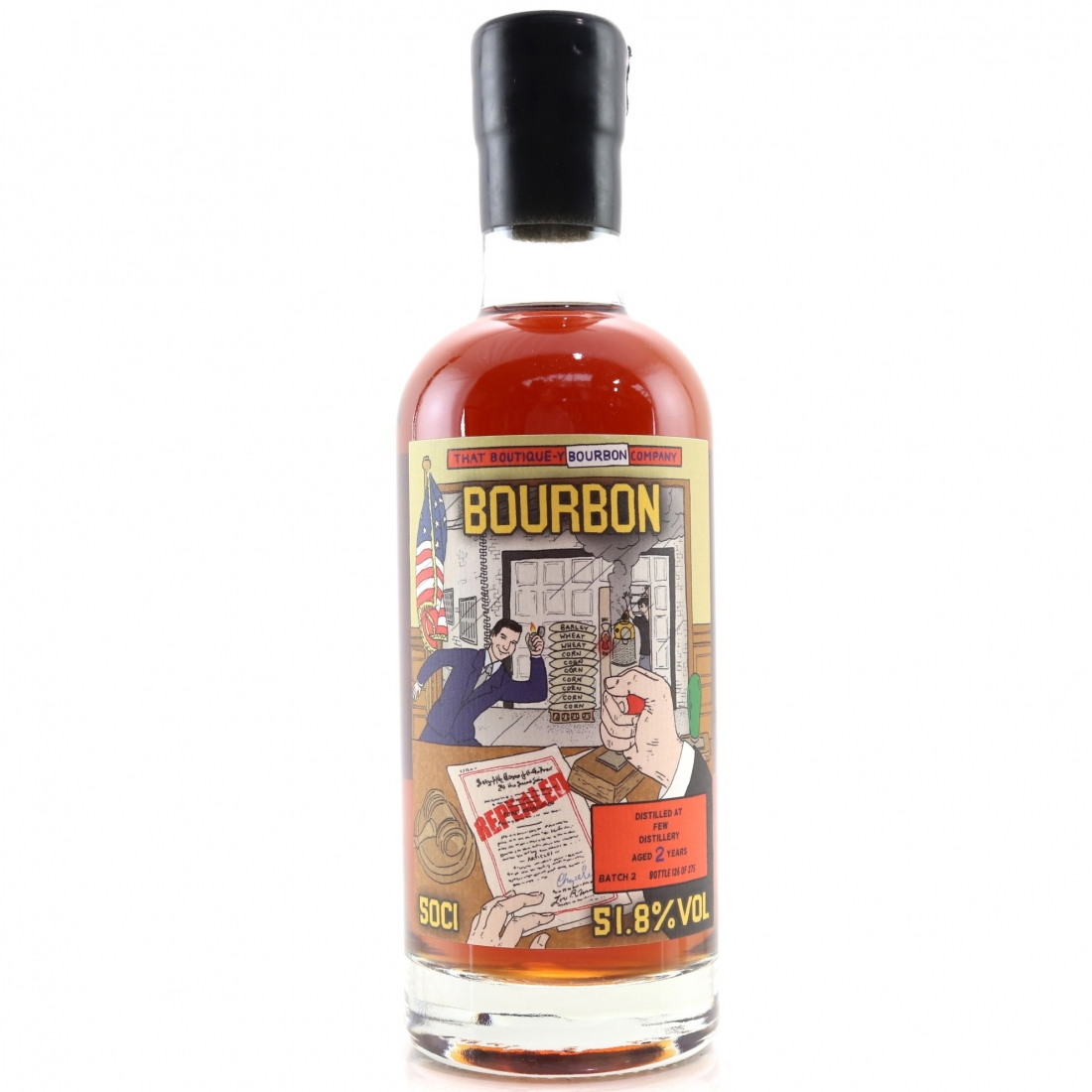 FEW Spirits 2 Year Old That Boutique-y Whisky Company Bourbon Batch #2