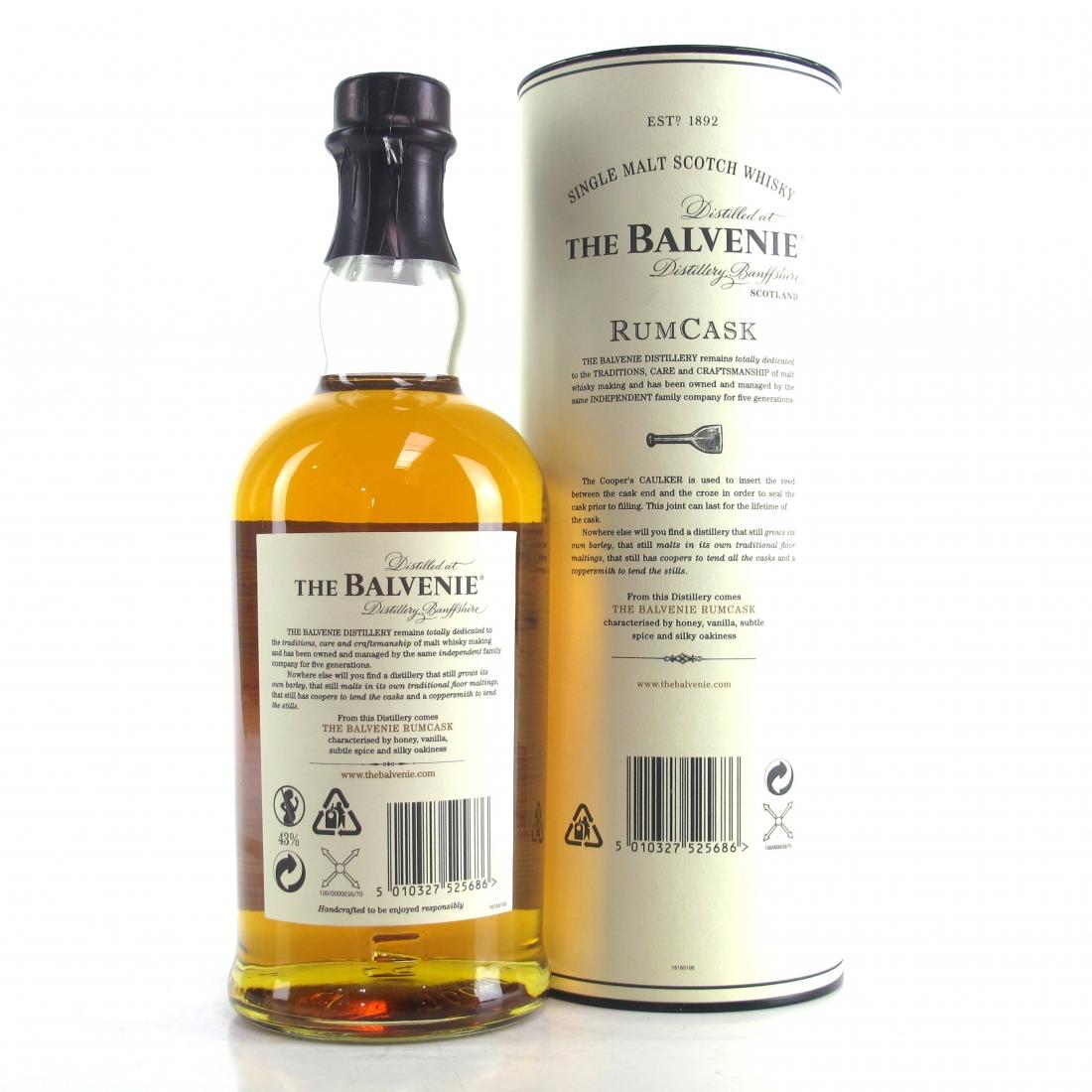 Balvenie 17 Year Old Rum Cask / First Edition