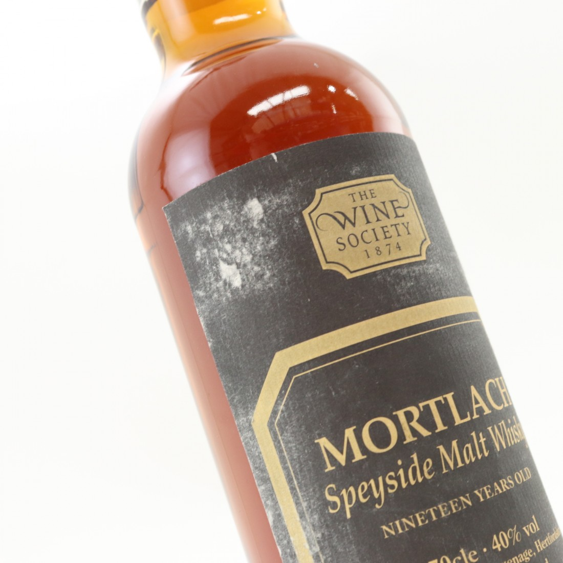 Mortlach 19 Year Old The Wine Society Circa 1980s/1990s