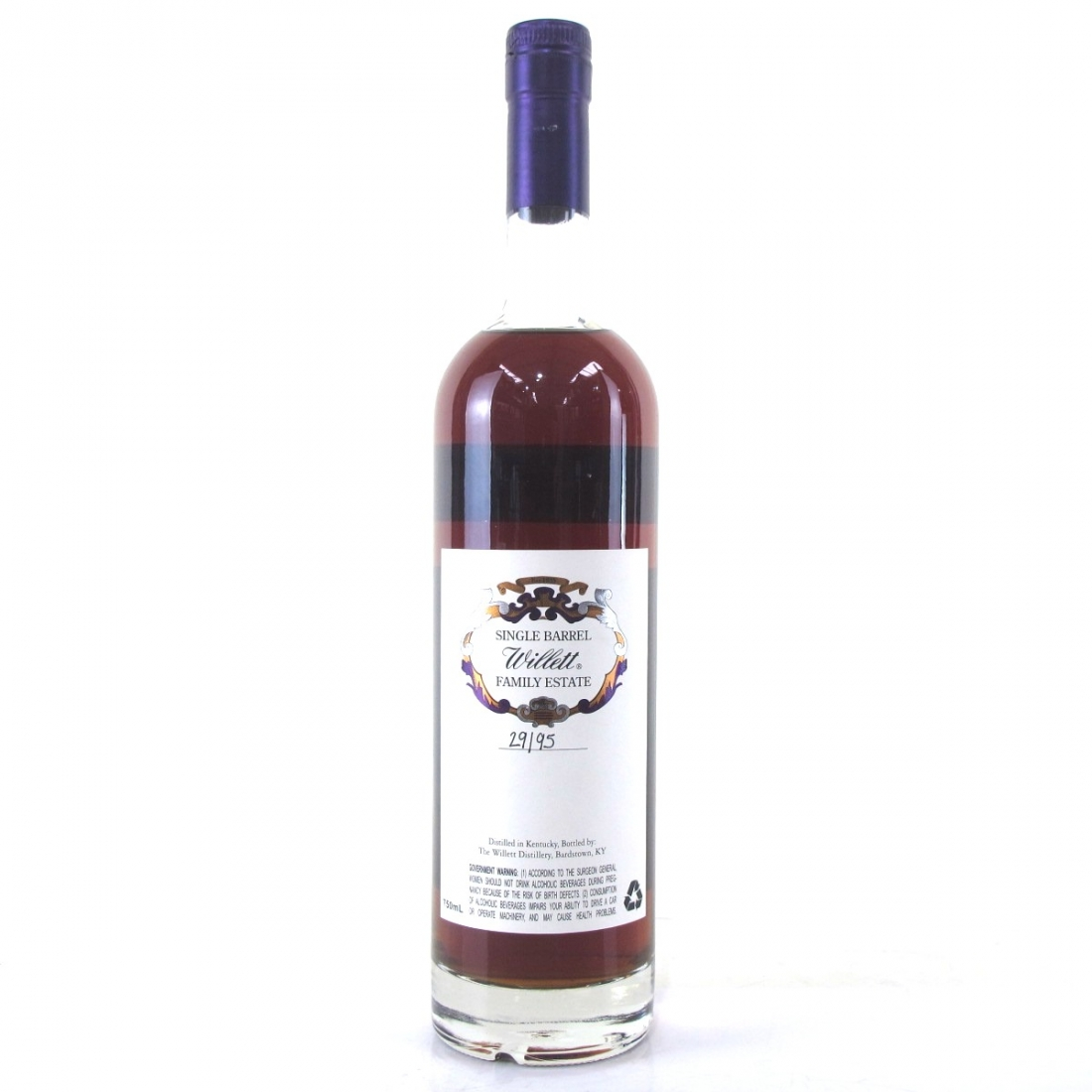 Willett Family Estate 24 Year Old Single Barrel Bourbon #3709