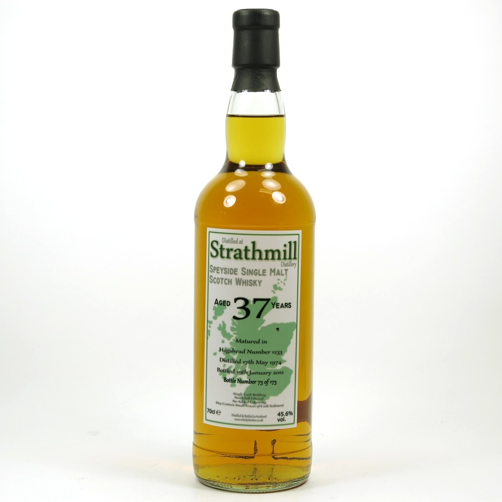 Strathmill 1974 Whisky Broker 37 Year Old