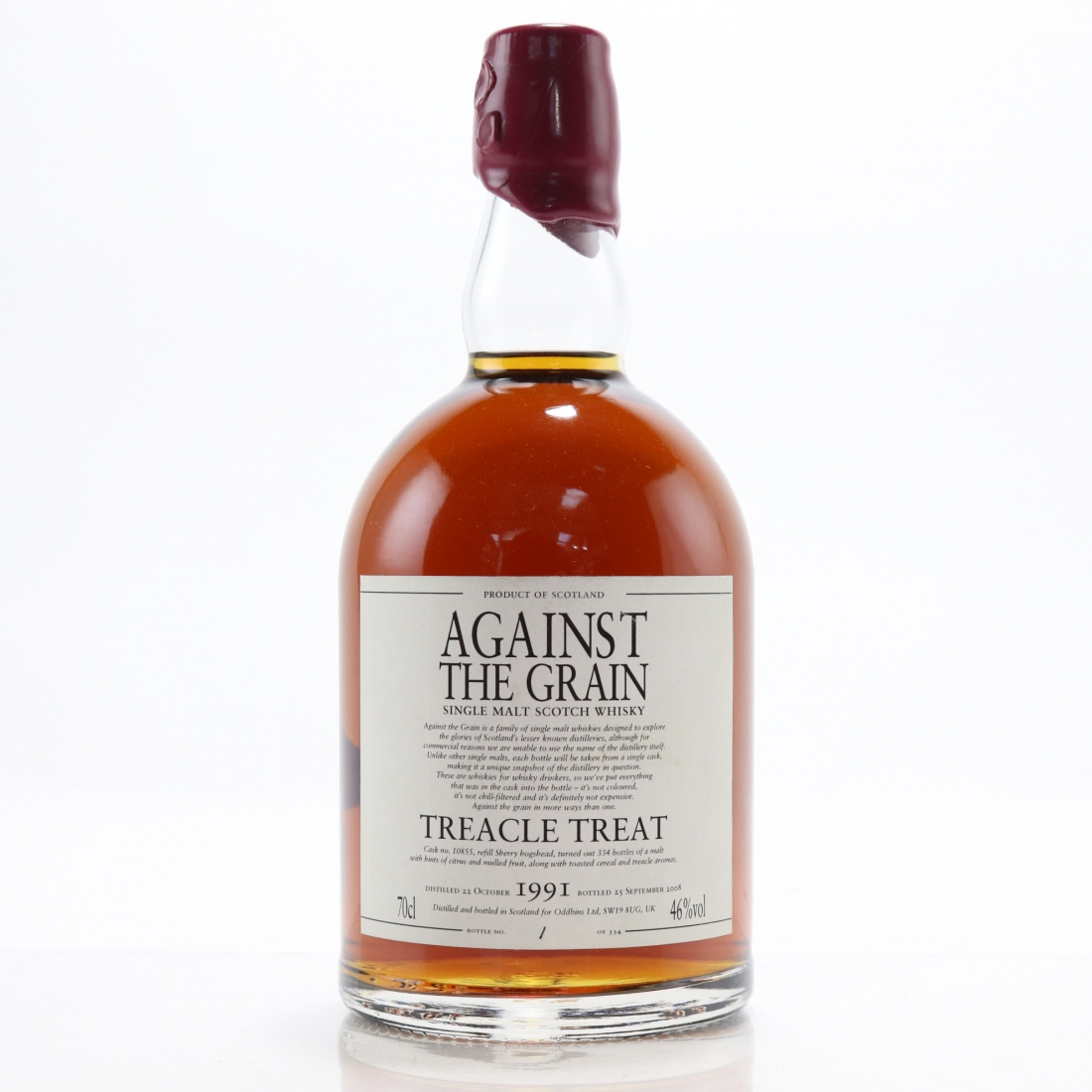 """Against The Grain 1991 """"Treacle Treat"""" 16 Year Old"""