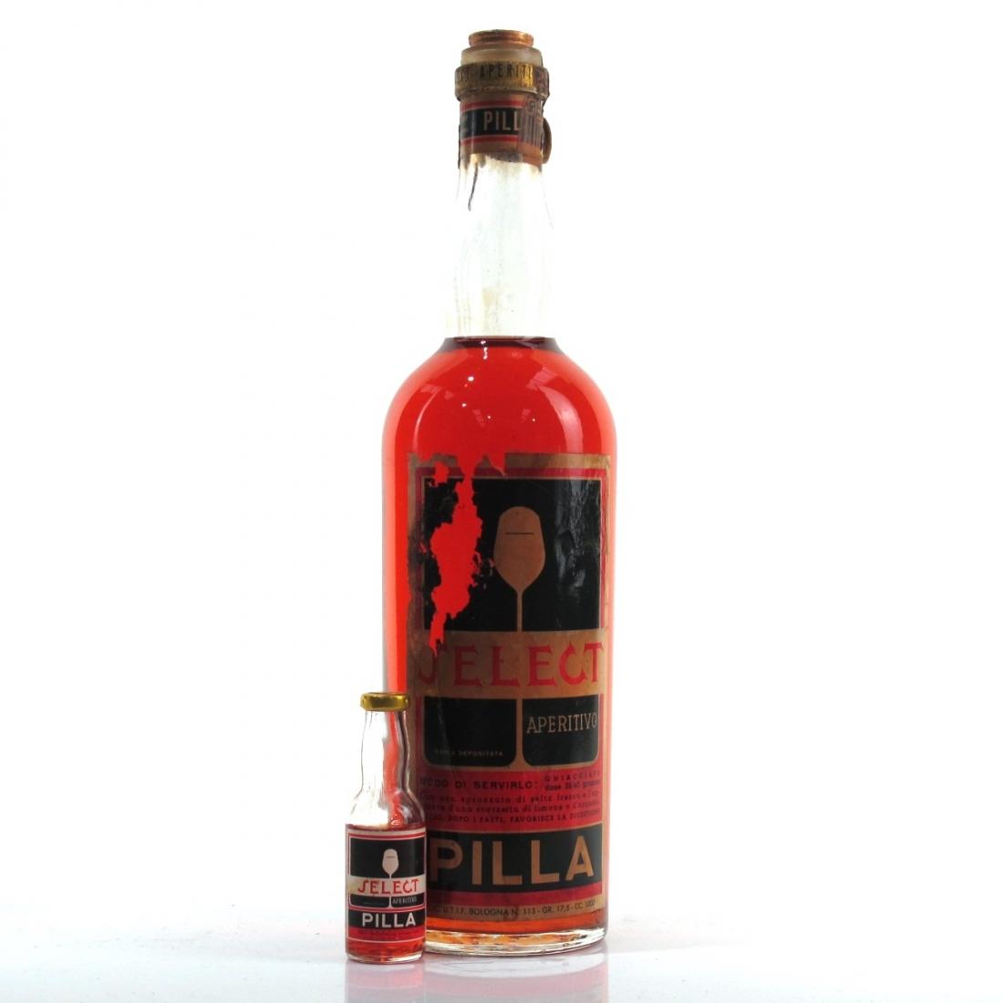 Pilla Select Aperitivo 1 Litre 1950s / Includes Minaiture