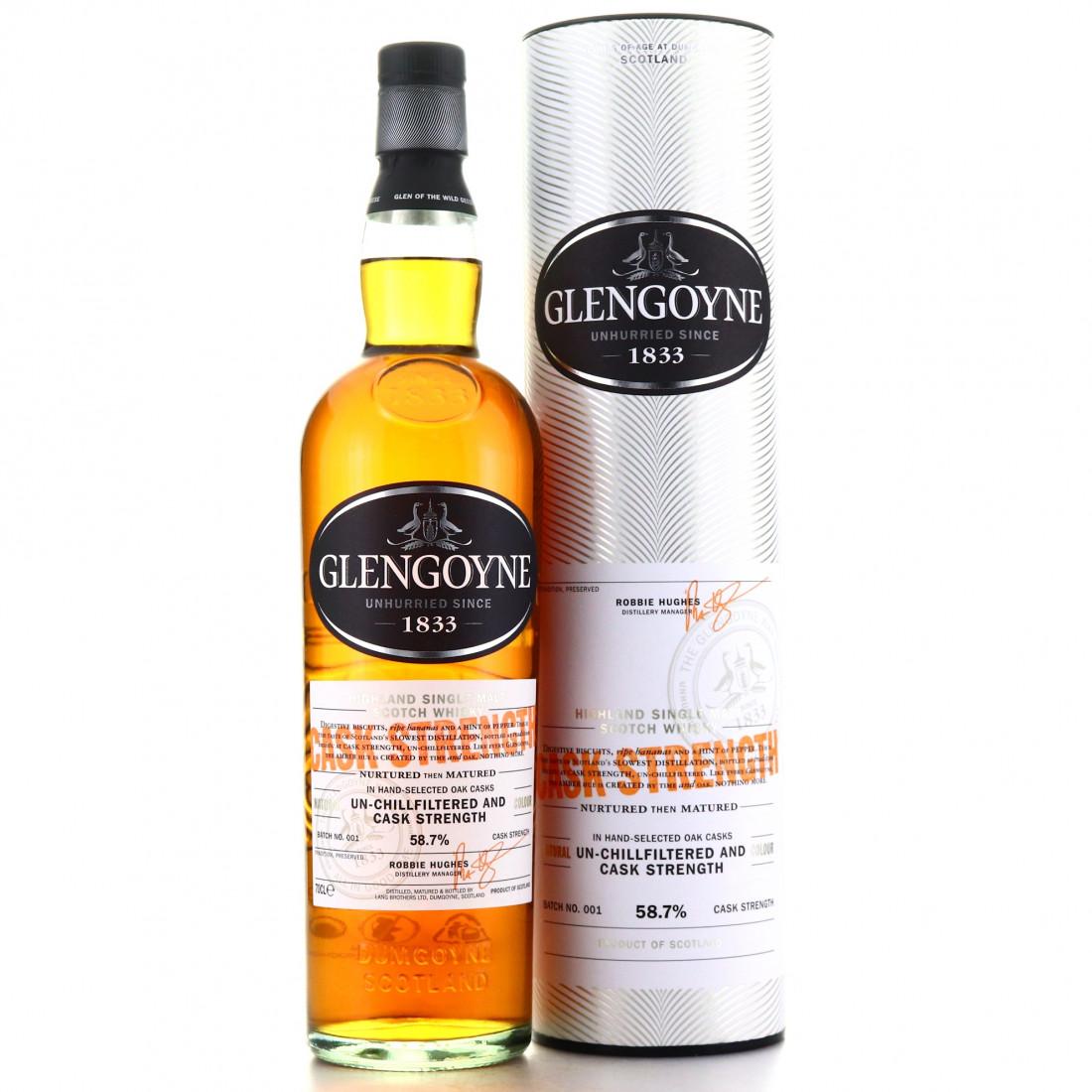 Glengoyne Cask Strength Batch #1