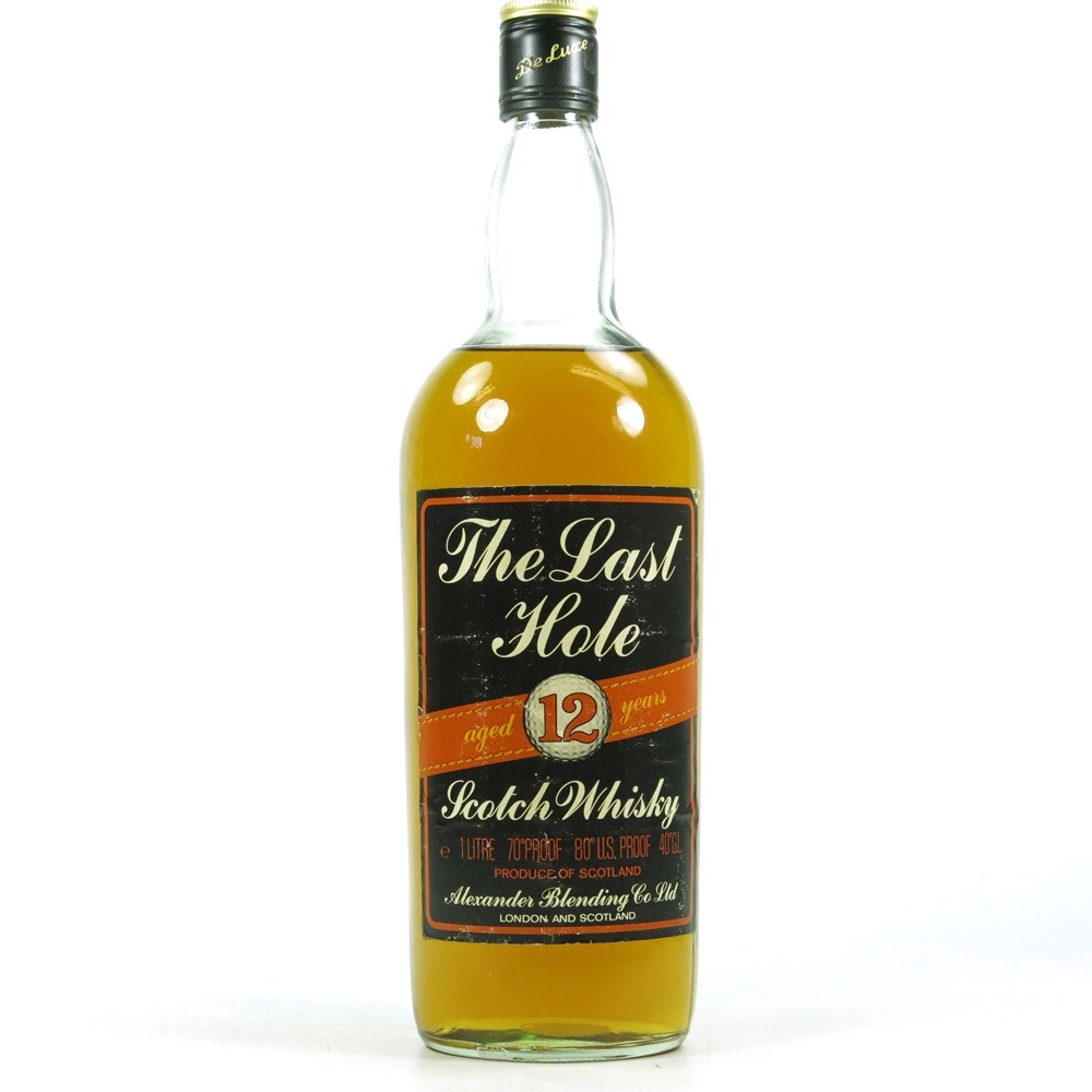 The Last Hole 12 Year Old 1 Litre 1970s