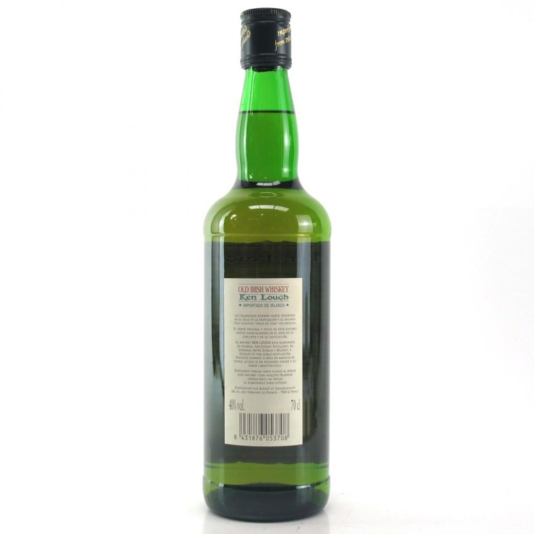 Ken Lough Old Irish Whiskey / Cooley