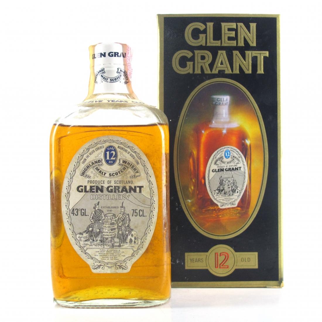 Glen Grant 12 Year Old 1970s