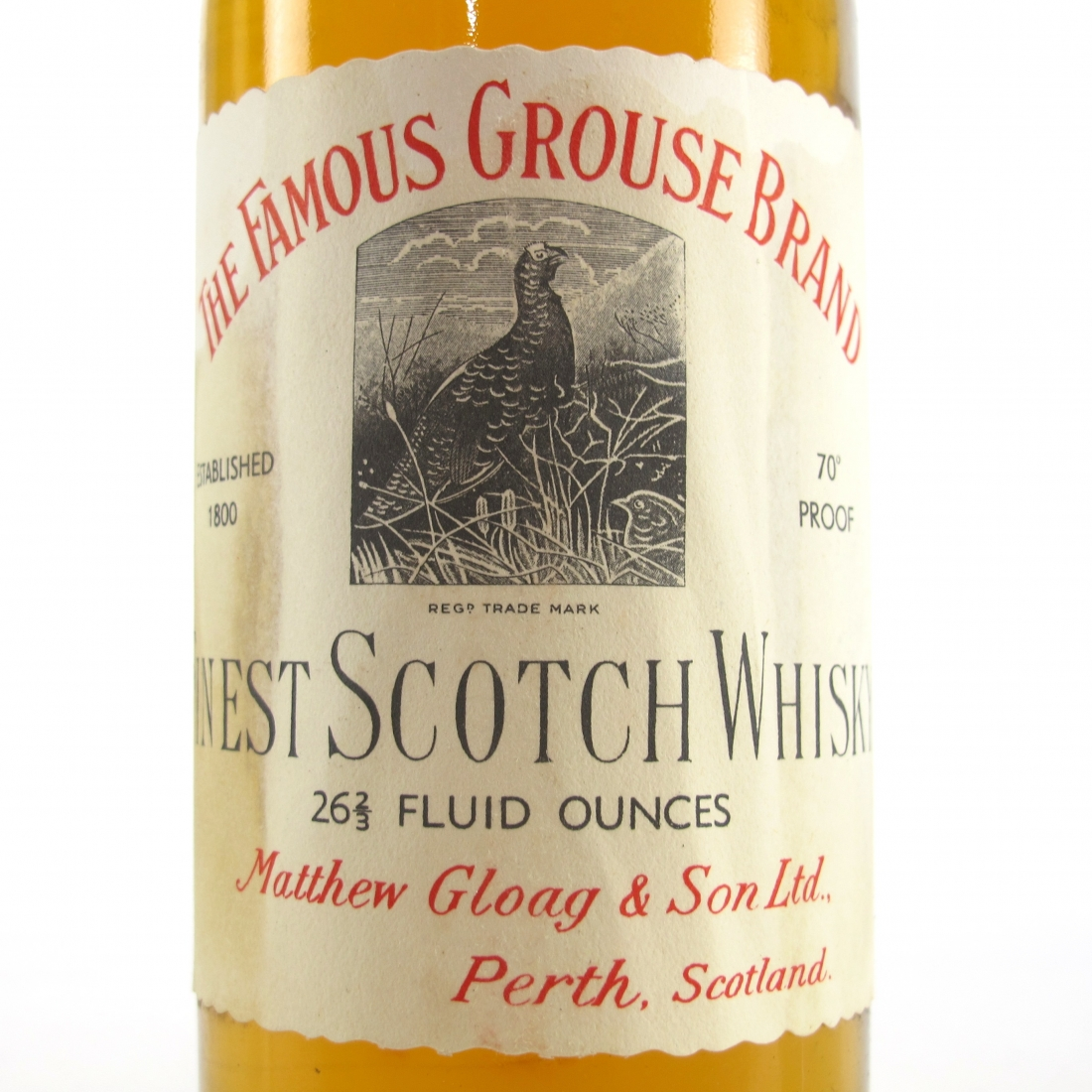 Famous Grouse 1960s