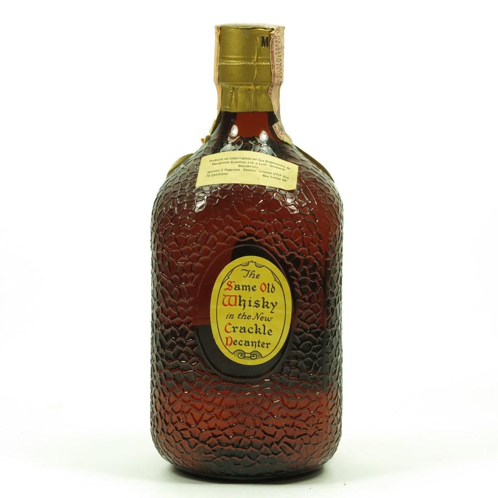 Sandy MacDonald Special Blended Scotch Whisky 1970s