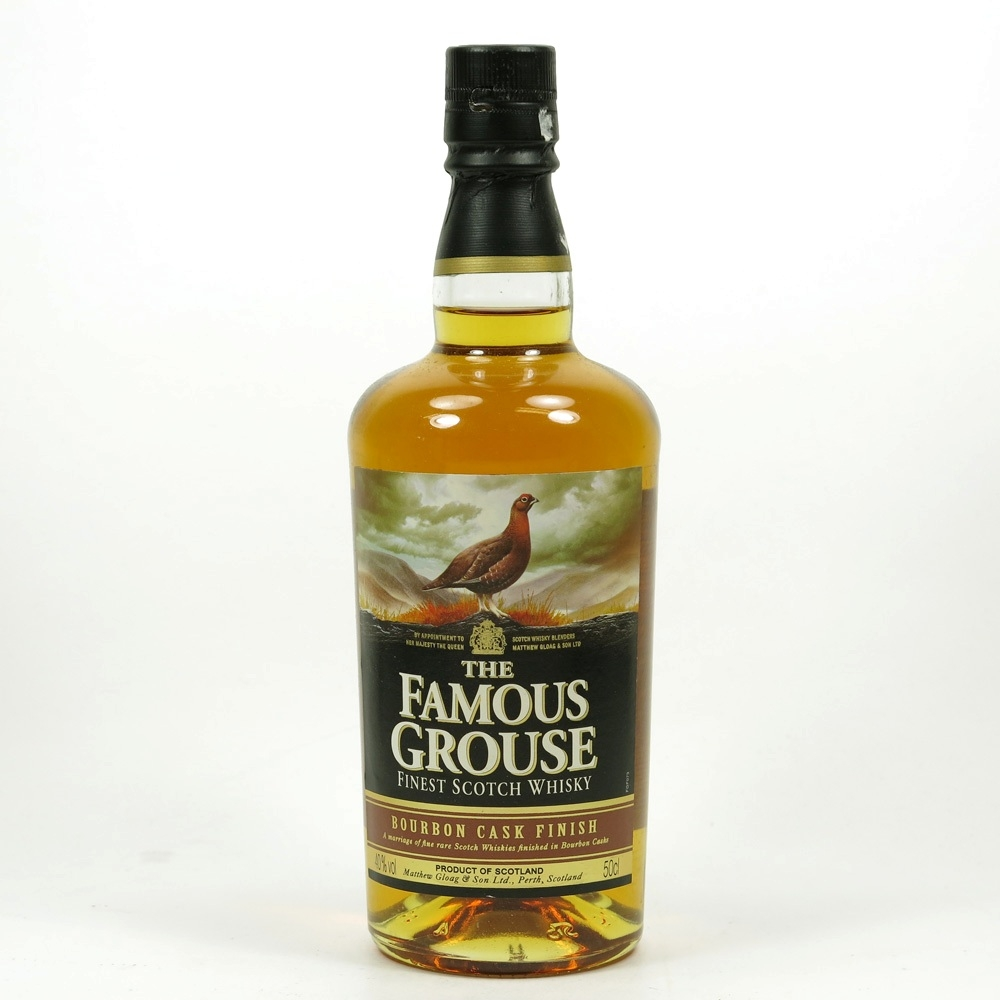 Famous Grouse Bourbon Cask Finish