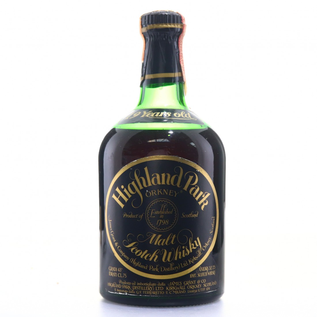 Highland Park 19 Year Old 1979-1980 / Ferraretto