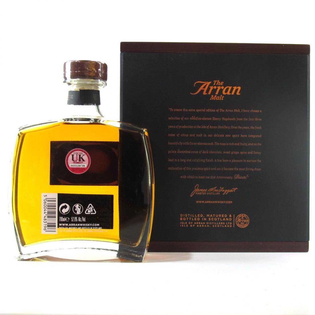 Arran 21st Anniversary Limited Edition