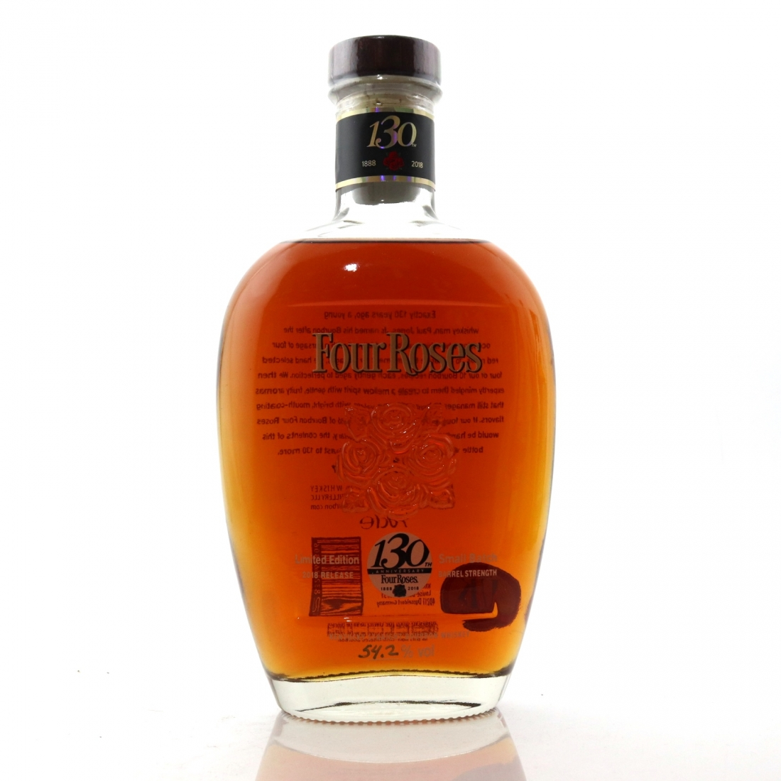 Four Roses Small Batch Limited Edition 2018 Release / 130th Anniversary | Whisky Auctioneer