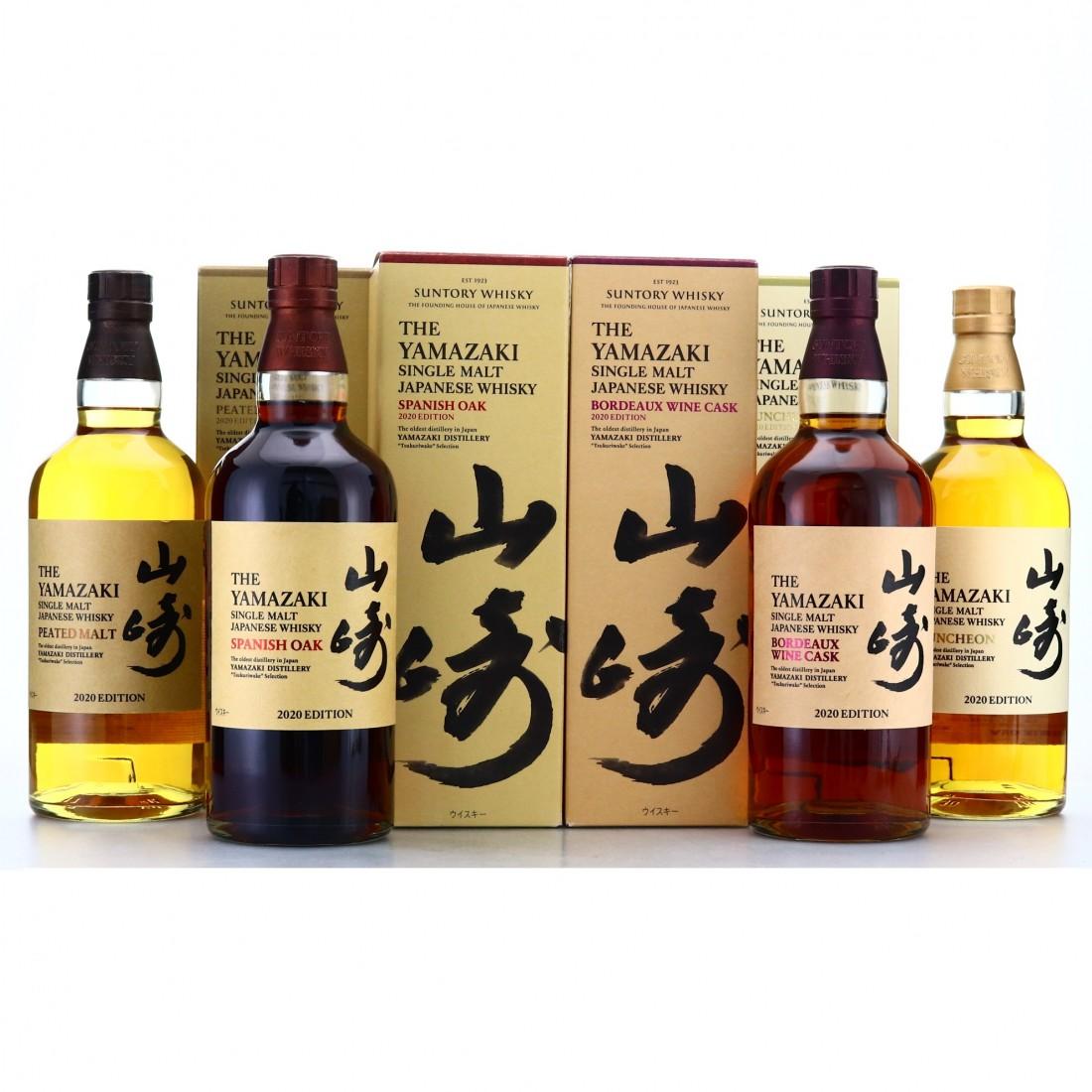 Yamazaki 2020 Editions 4 x 70cl