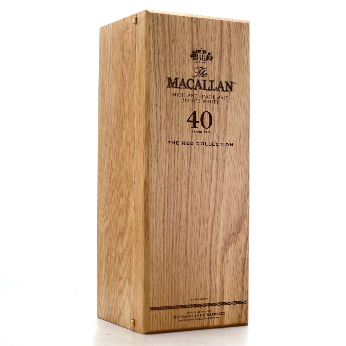 *OBSCURE BOTTLE NO Macallan 40 Year Old The Red Collection