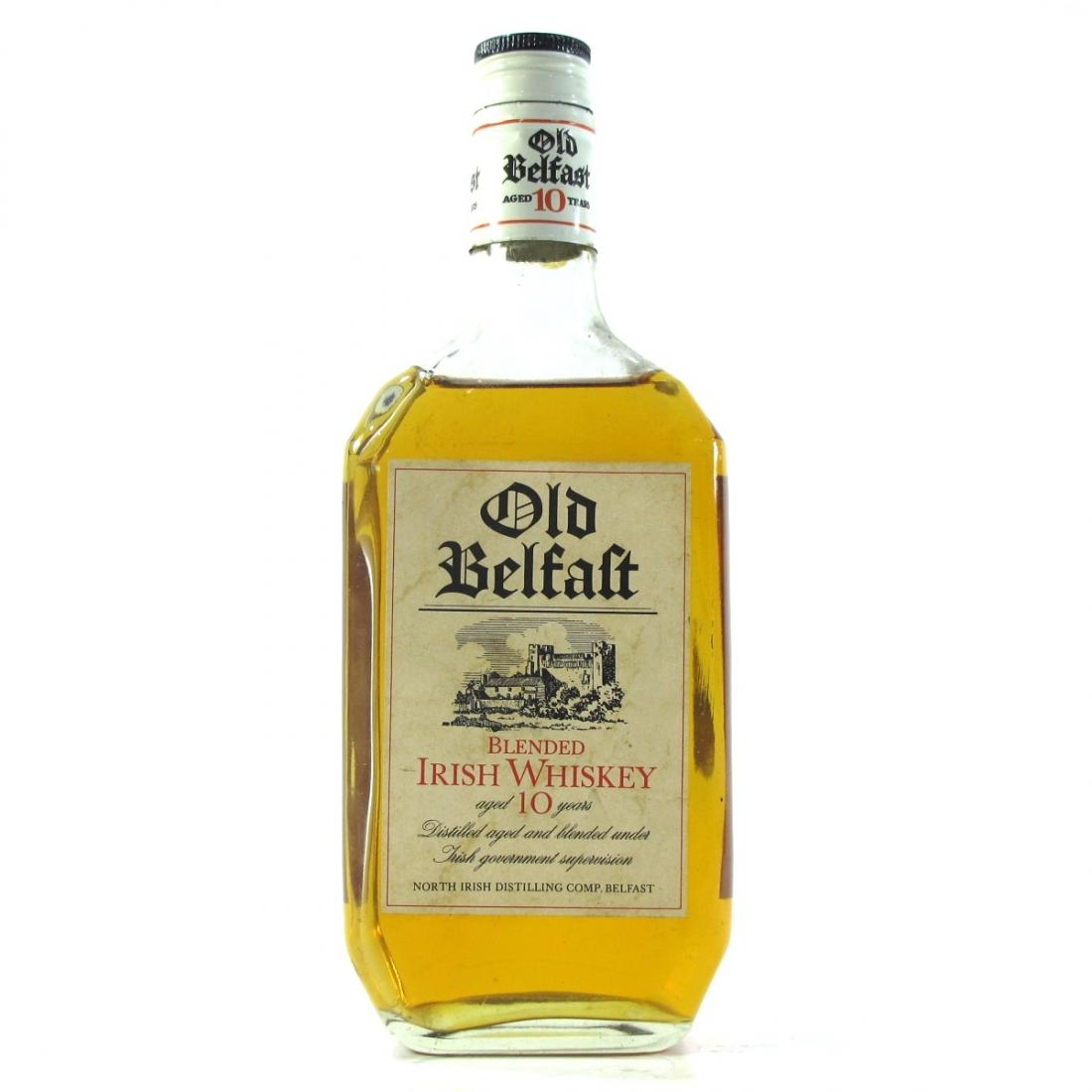Old Belfast 10 Year Old Irish Whisky 1960s / Hertzberg Import