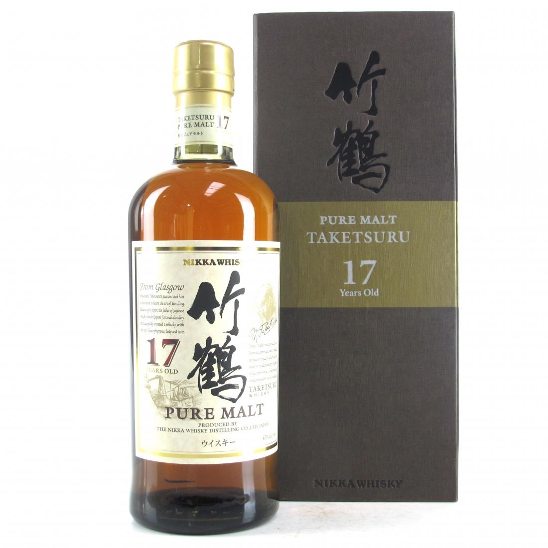 Taketsuru 17 Year Old / Wooden Presentation