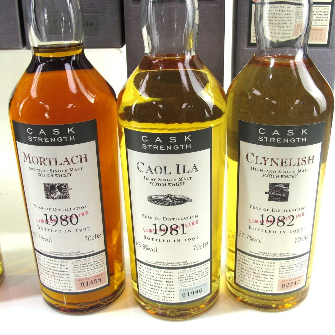 Flora and Fauna Cask Strength Complete Collection 9 x 70cl