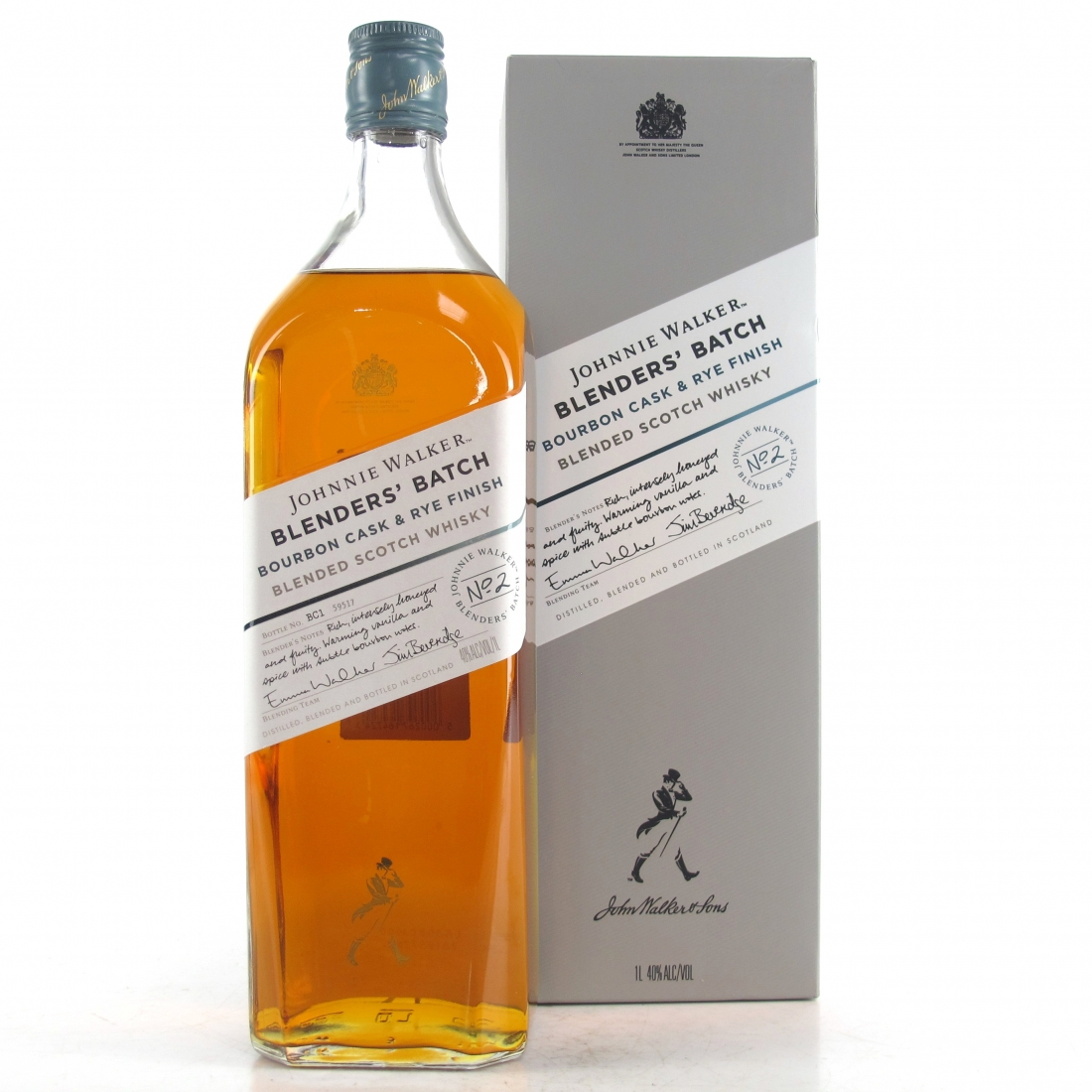 Johnnie Walker Blenders' Batch #2 Bourbon Cask & Rye Finish 1 Litre