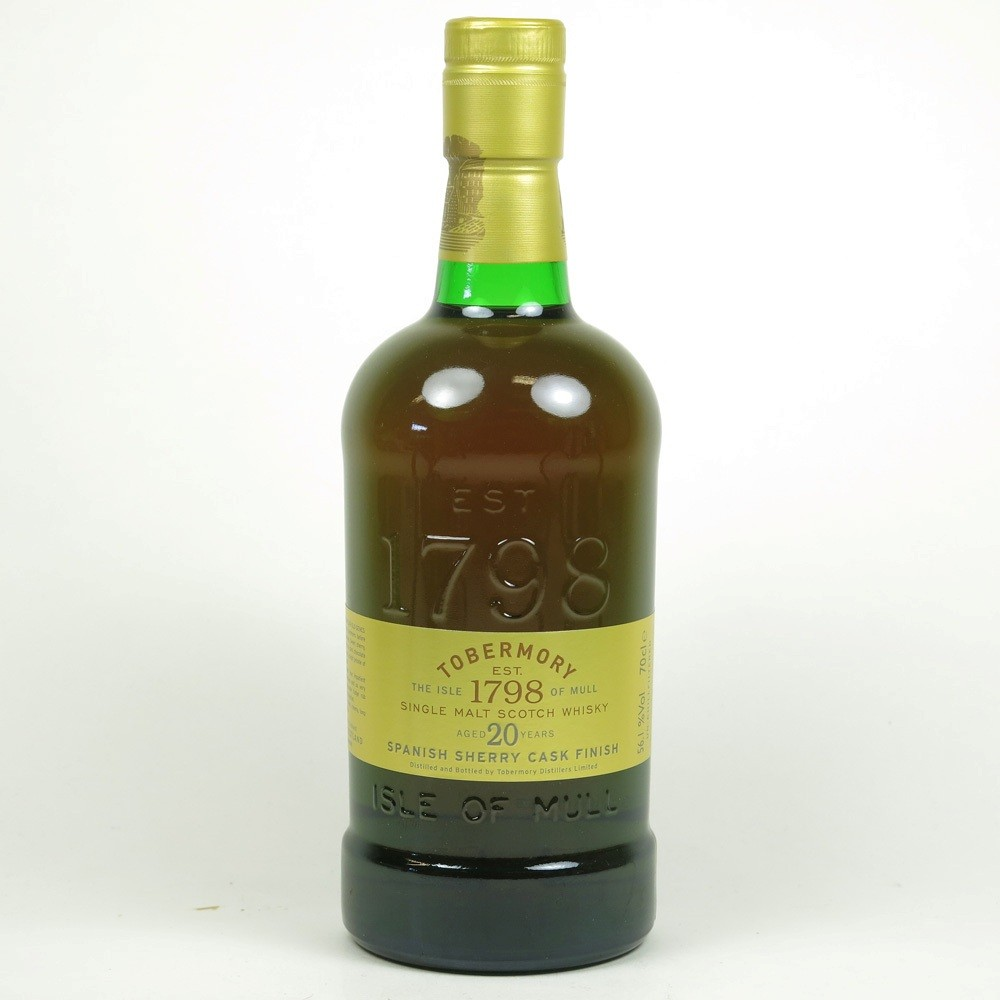 Tobermory 20 Year Old Sherry Cask Finish / Distillery Exclusive