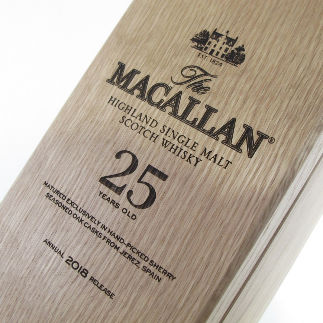 Macallan 25 Year Old Sherry Oak 2018 Release