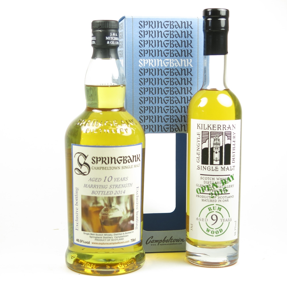 Springbank 10 Year Old Marrying Strength and Kilkerran 9 Year Old Rum Wood / Open Day 2015