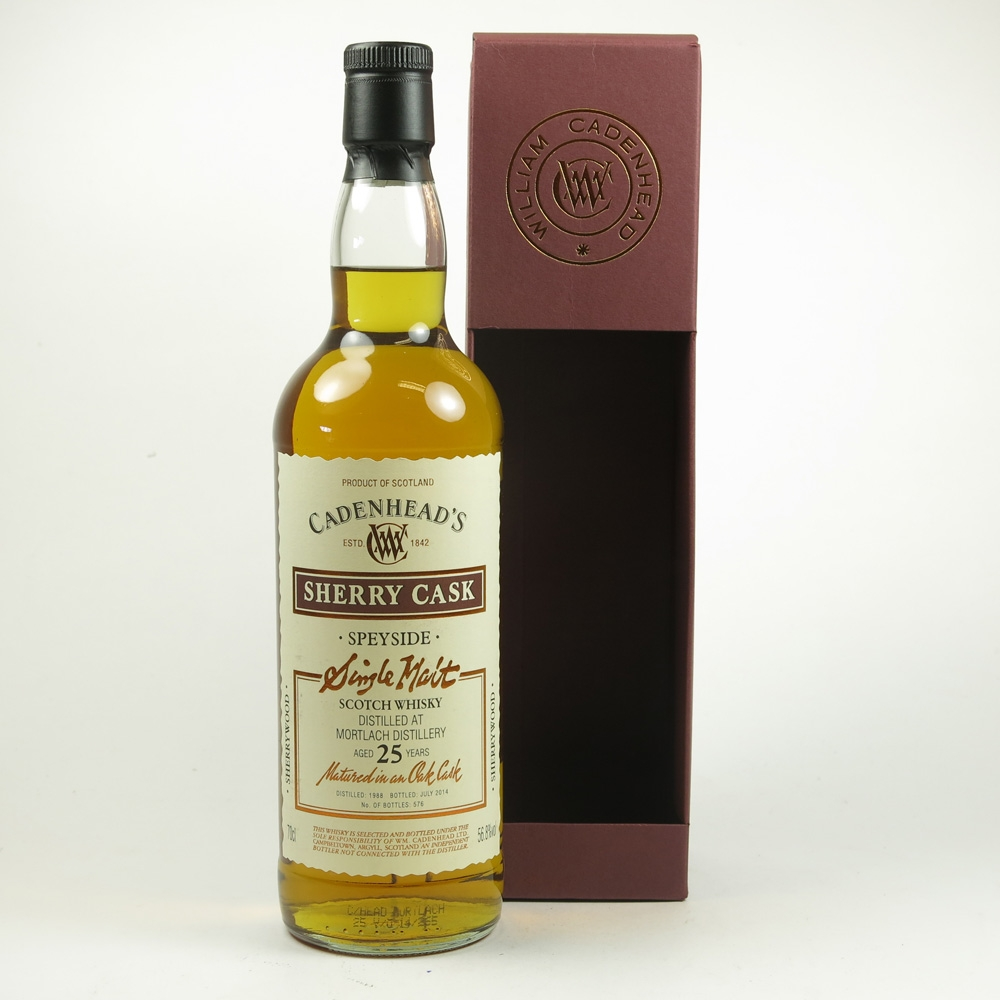 Mortlach 1988 Cadenhead's 25 Year Old
