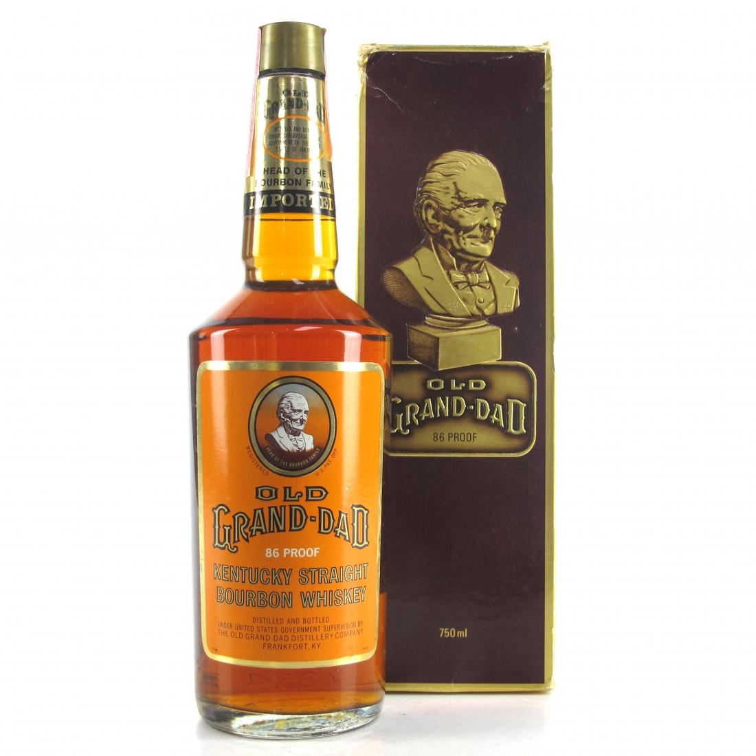 Old Grand-Dad Kentucky Straight Bourbon 1980s