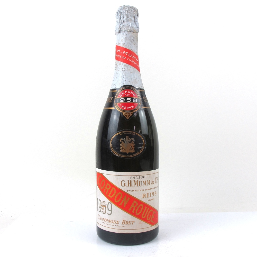 Mumm & Co Cordon Rouge Champagne Brut 1959