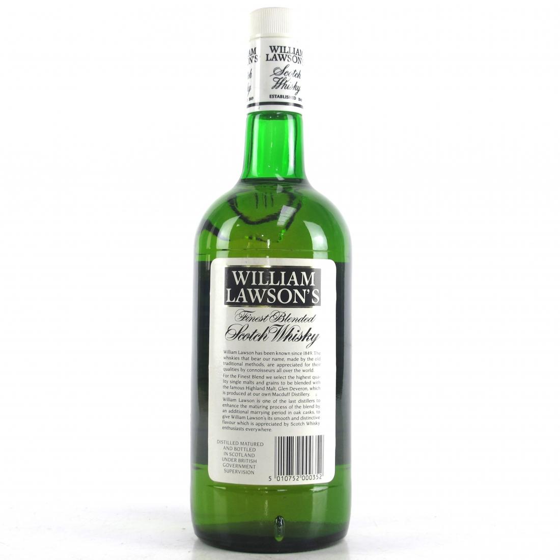 William Lawson's Finest Scotch Whisky