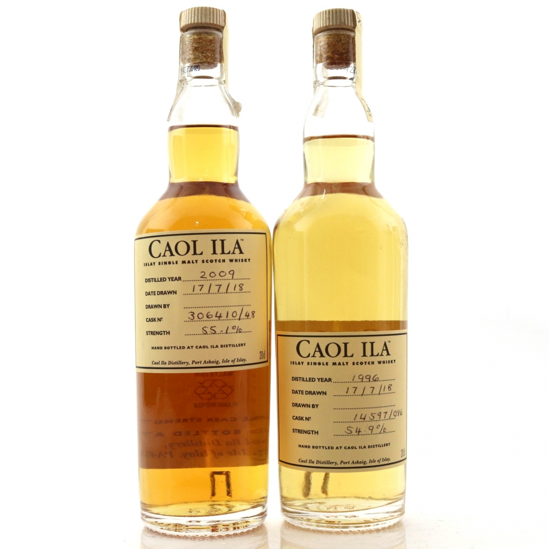 Caol Ila Hand Filled 2 x 20cl