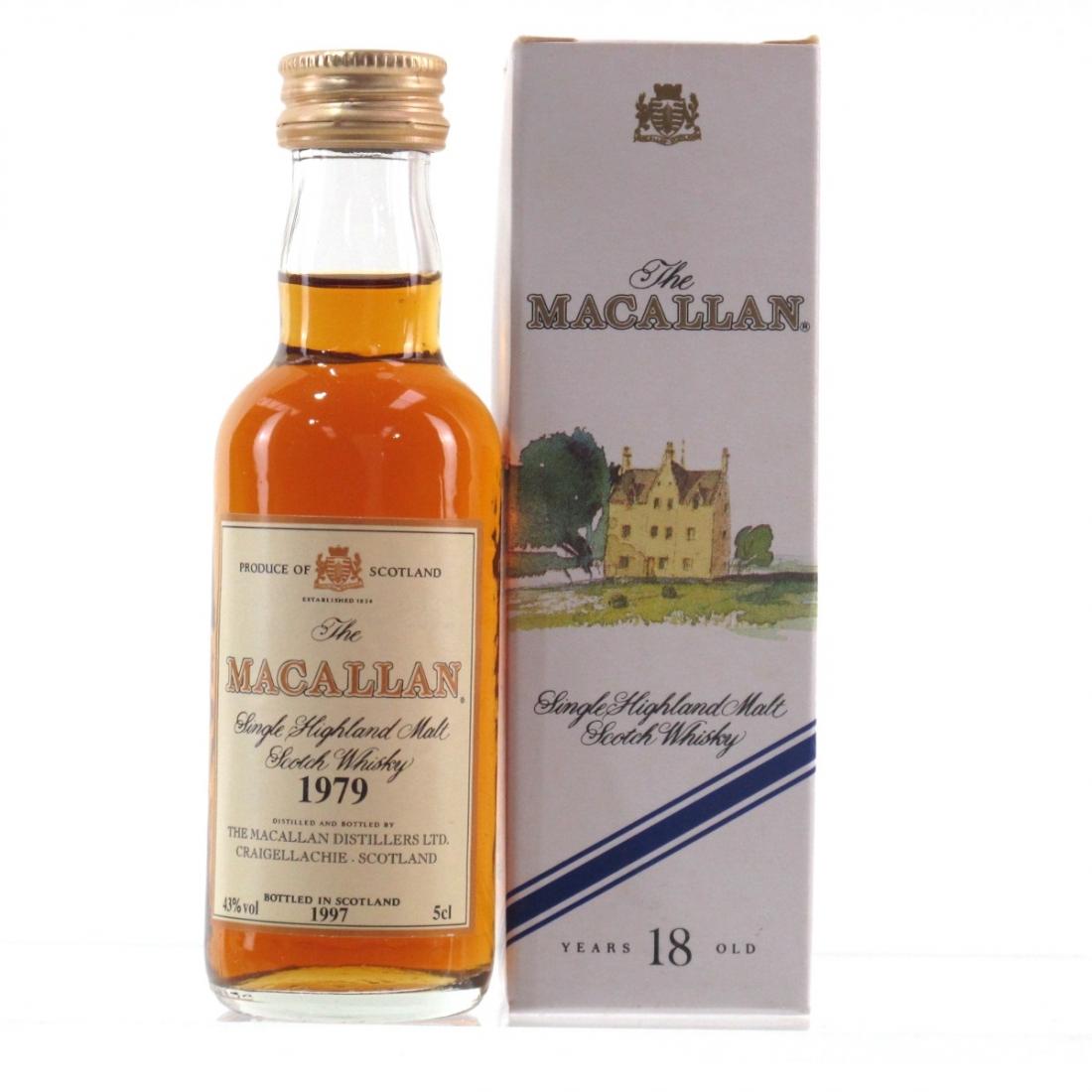 Macallan 18 Year Old 1979 Miniature 5cl