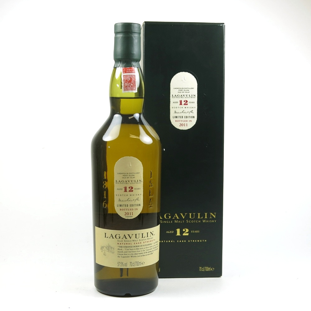 Lagavulin 12 Year Old Cask Strength 2011 Release
