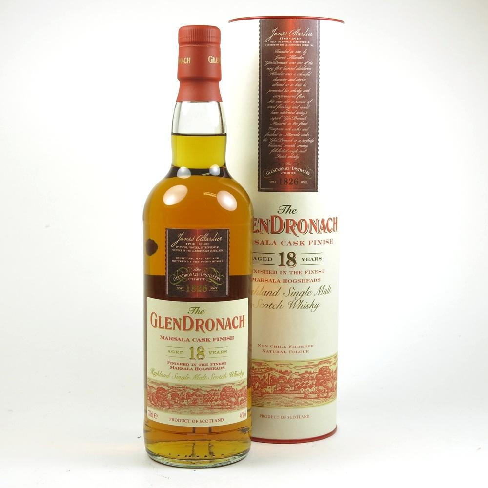 Glendronach 18 Year Old Marsala Finish