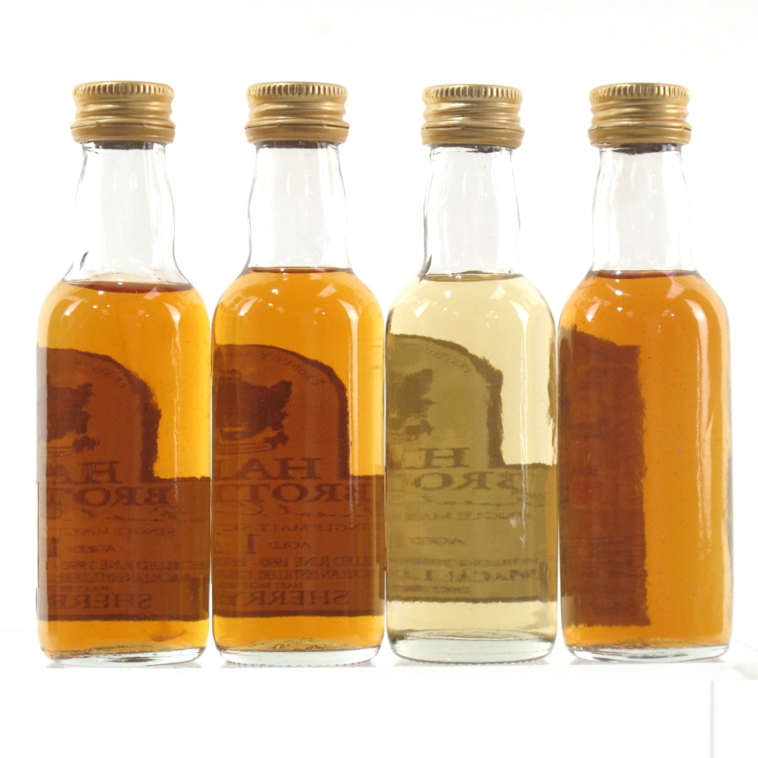 Macallan Independently Bottled Miniature Selection 4 x 5cl