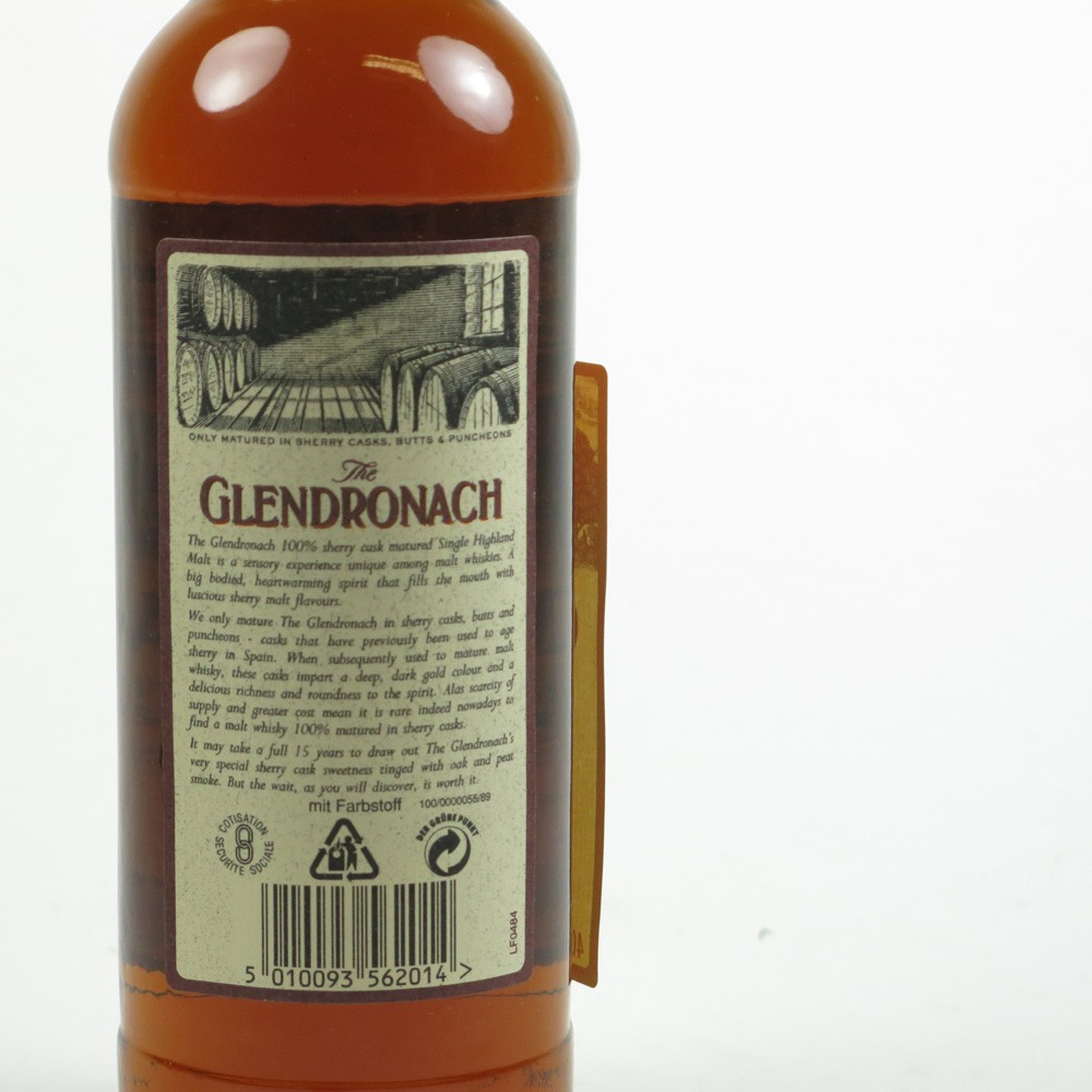 Glendronach 15 Year Old 1990s