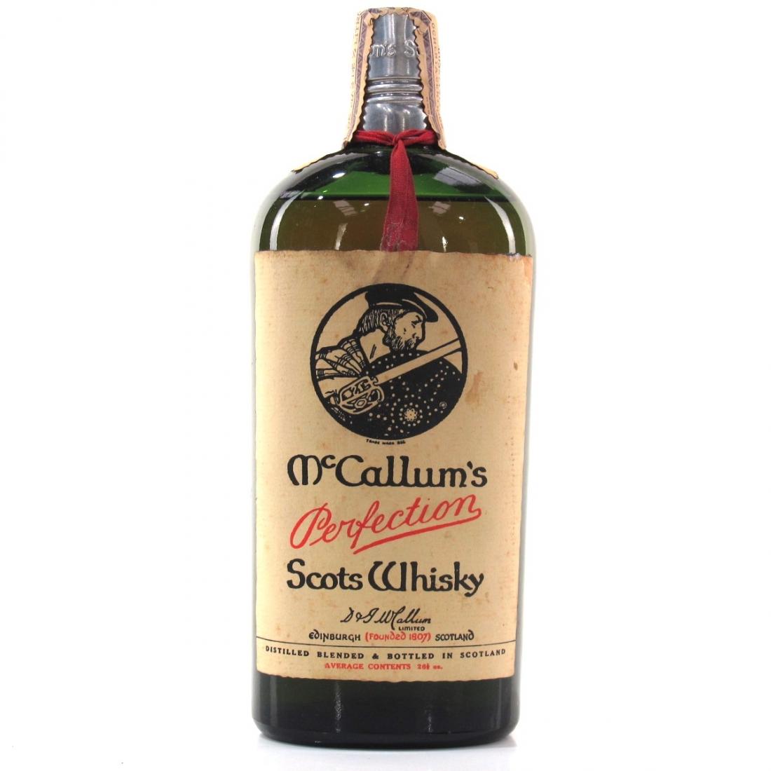McCallum's Perfection Scots Whisky 1970s
