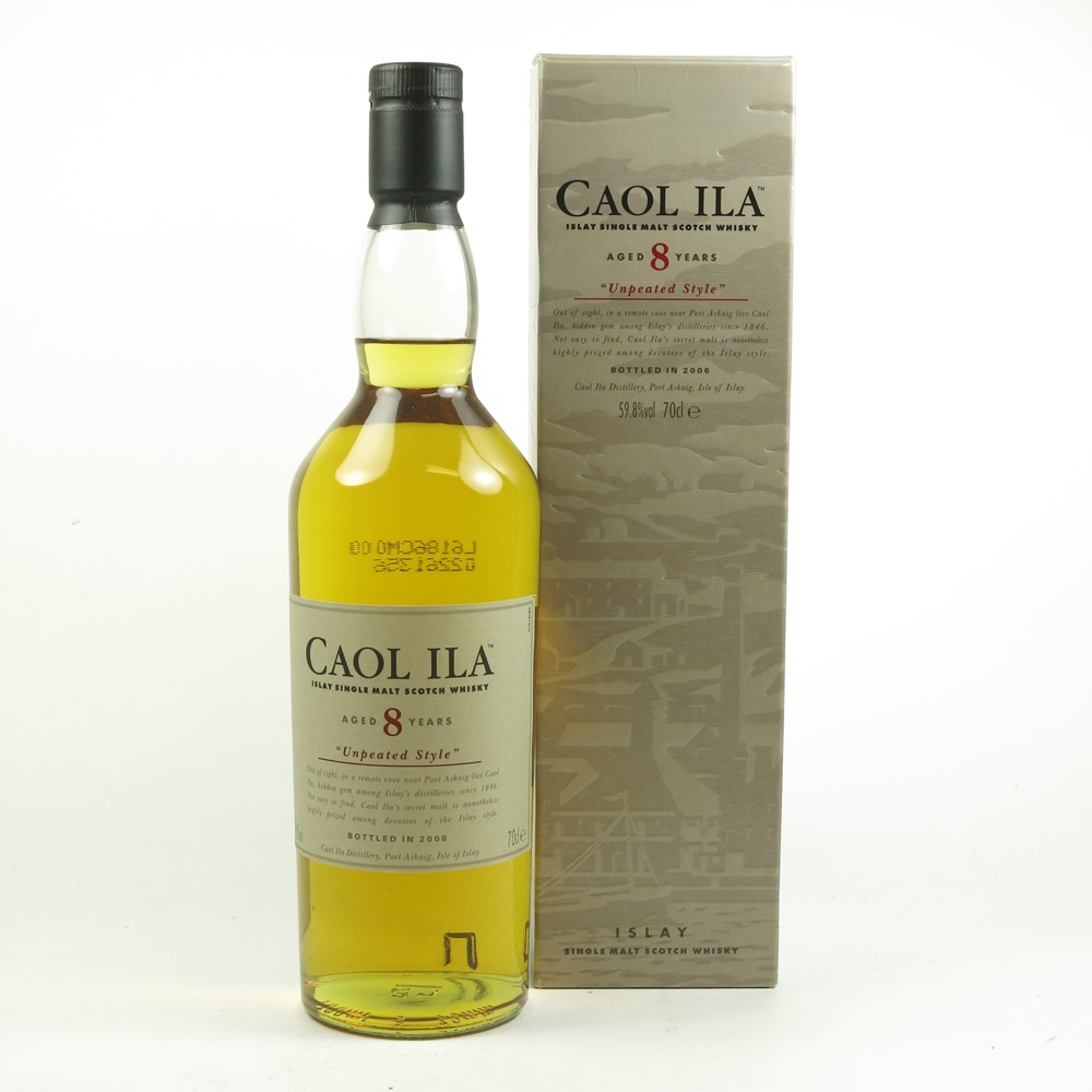 Caol Ila 8 Year Old Unpeated 2006