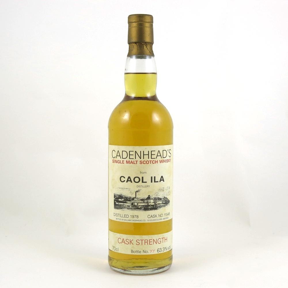Caol Ila 1978 Cadenhead's Cask Strength front