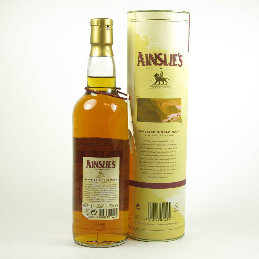 Ainslie's 12 Year Old Speyside Single Malt