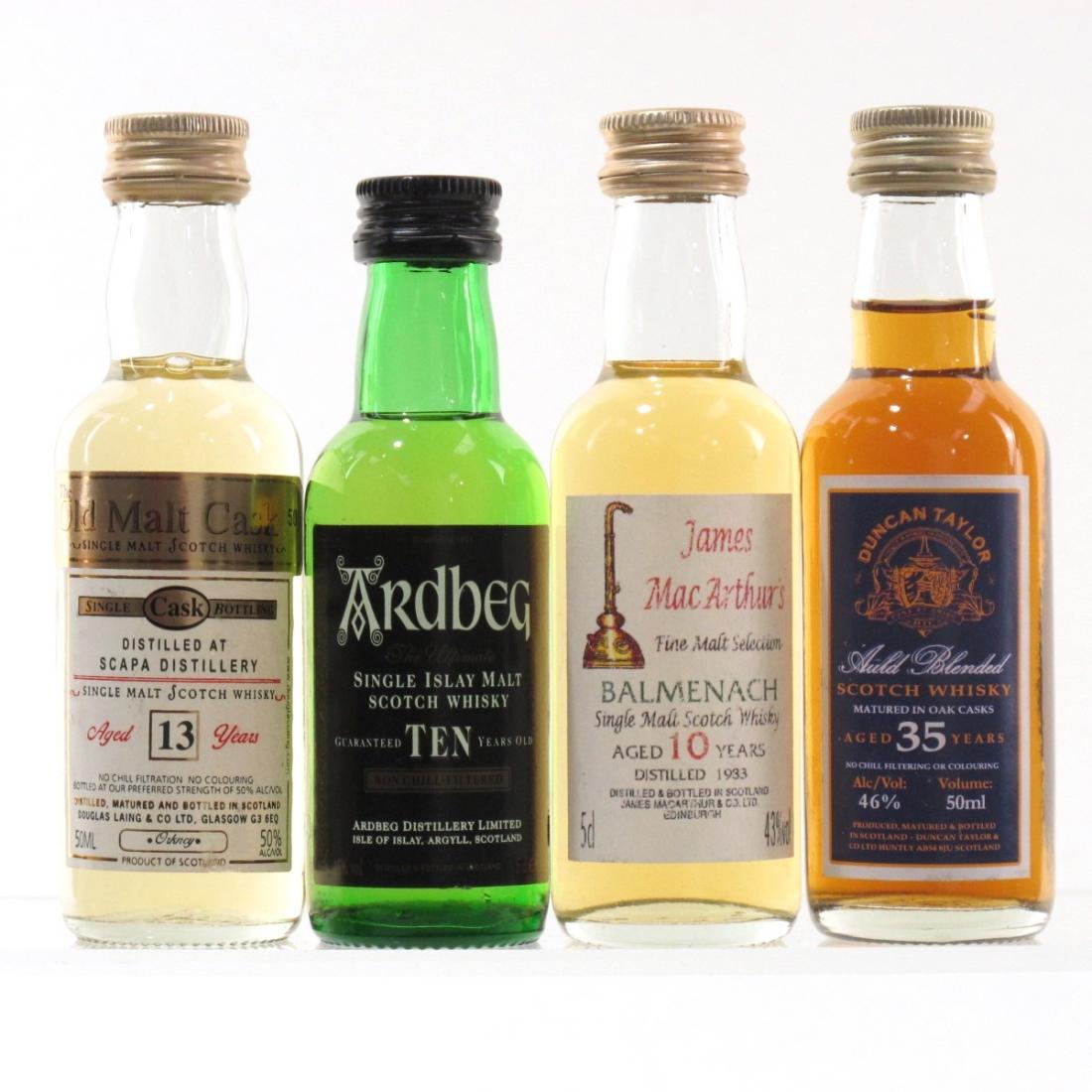 Scotch Whisky Miniature Selection 4 x 5cl