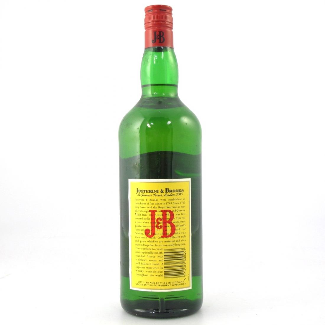 J&B Rare 1 litre