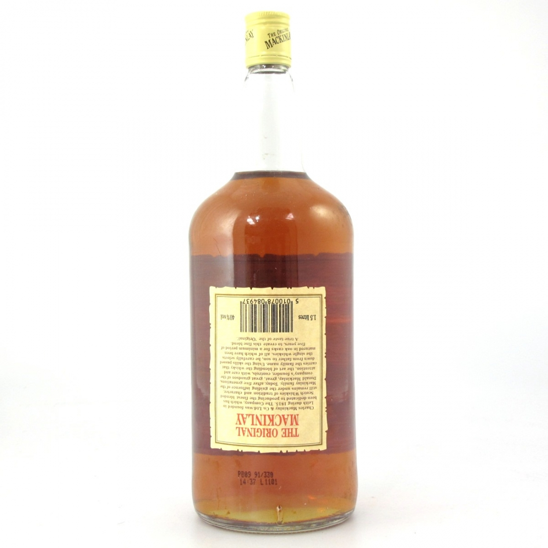Mackinlay Finest Old Scotch Whisky 1.5 Litre
