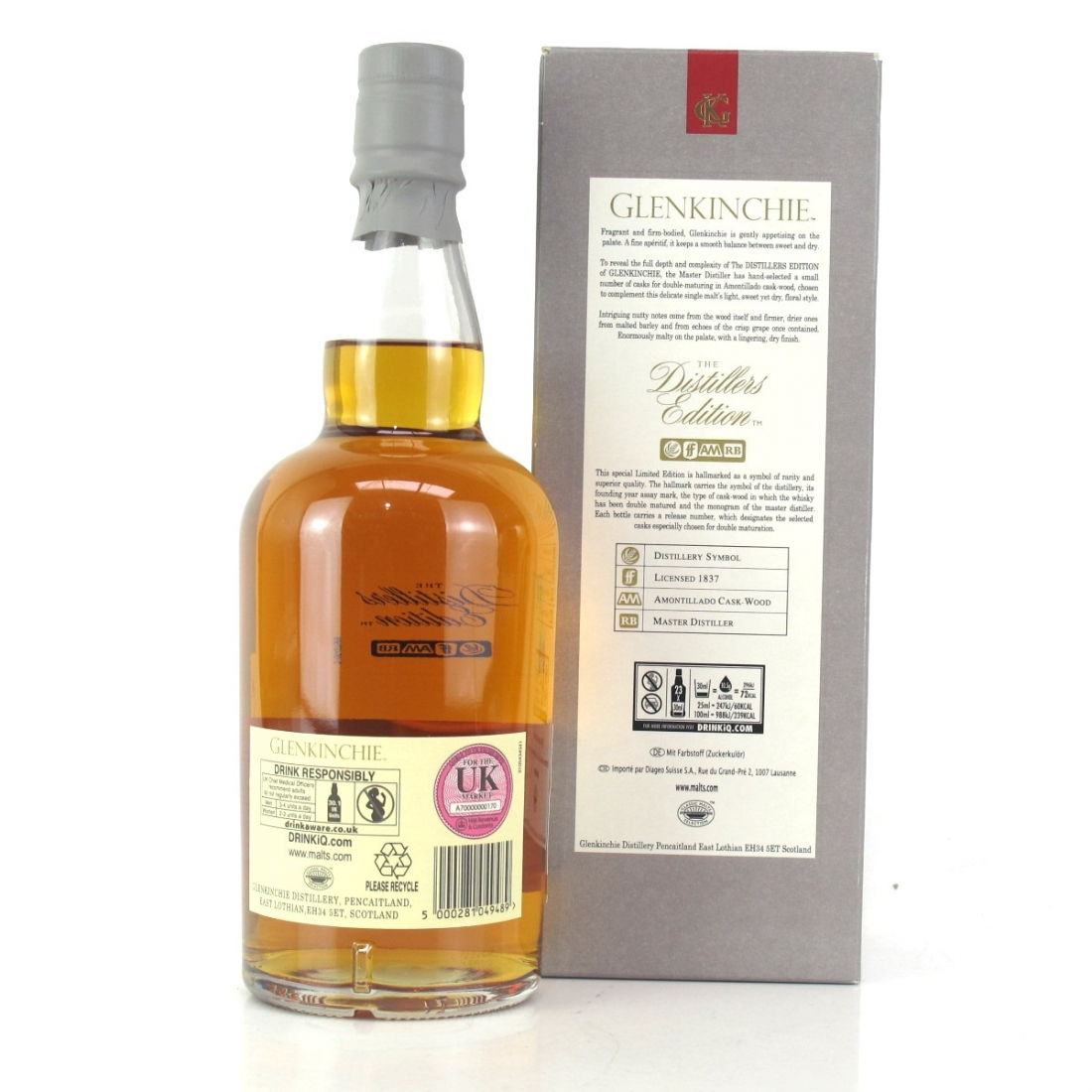 Glenkinchie 2005 Distillers Edition 2017