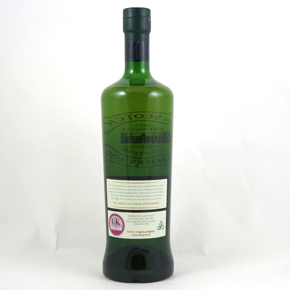Bowmore 2000 SMWS 13 Year Old 3.222 back