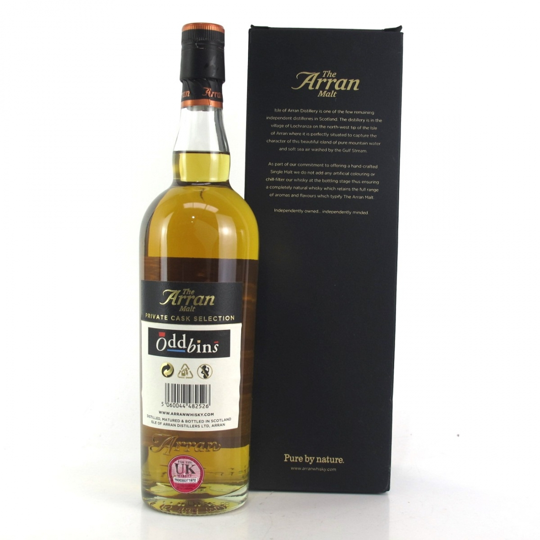 Arran 2003 Single Cask 14 Year Old / Oddbins Exclusive
