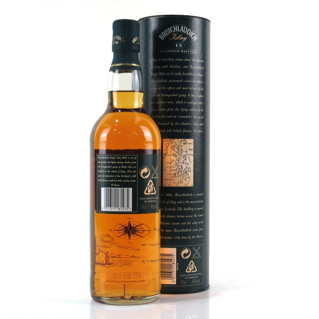 Bruichladdich 15 Year Old 1990s