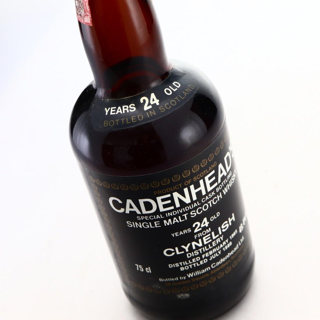 Clynelish 1965 Cadenhead's 24 Year Old