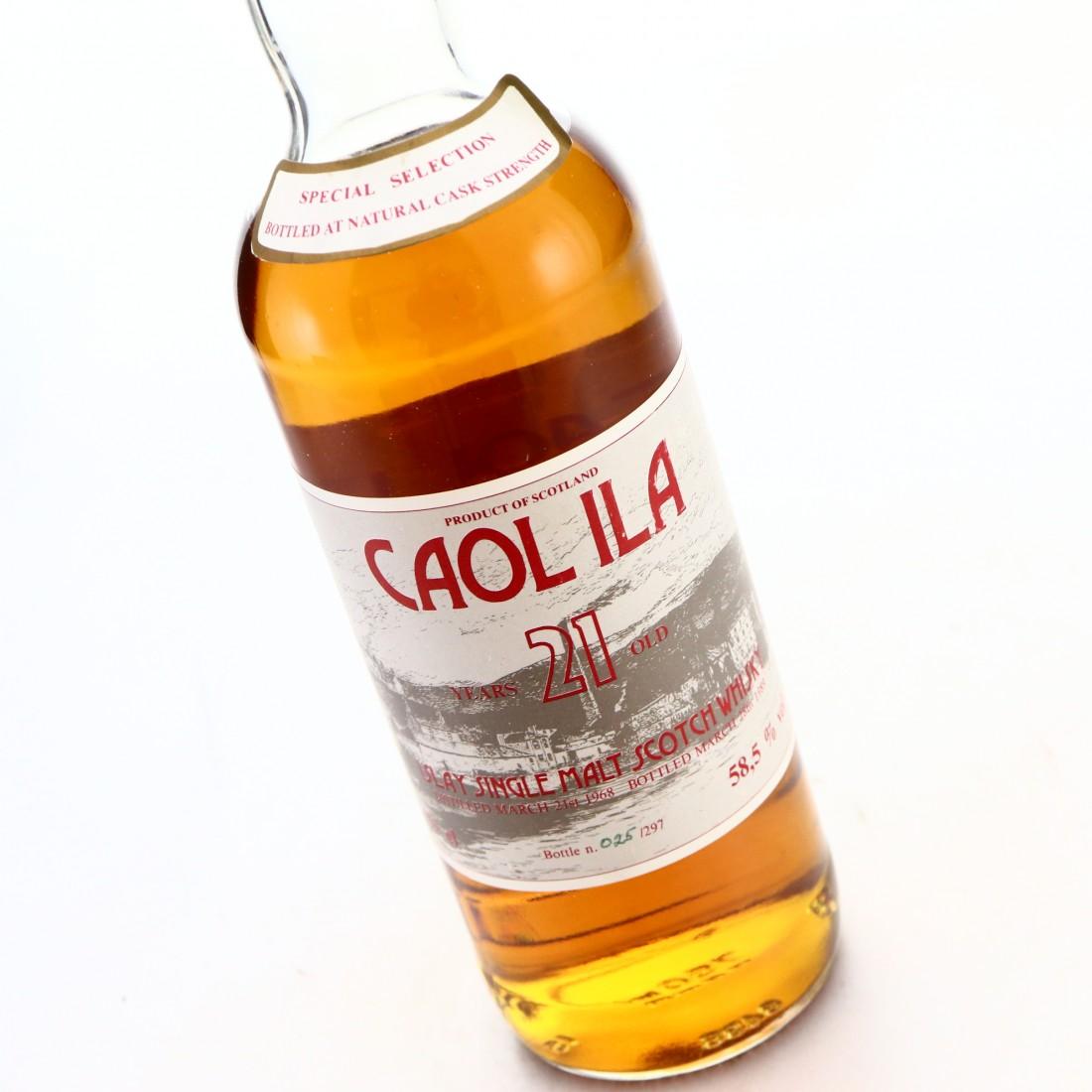 Caol Ila 1968 Intertrade 21 Year Old Cask Strength